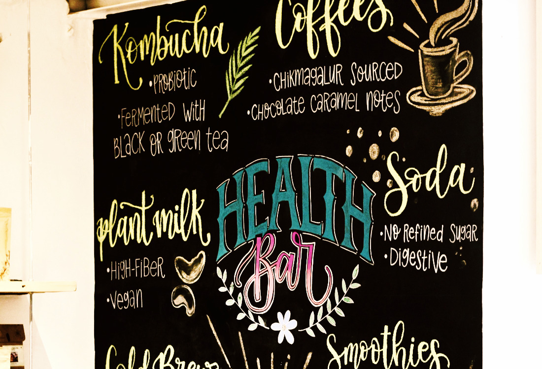 Health Bar Wall Art Vasant Vihar