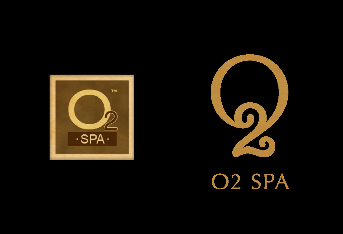 O2 Spa Logo OLD and NEW